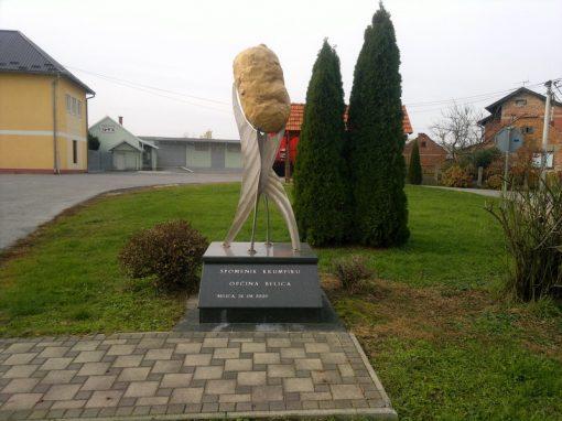 Spomenik krumpiru – Belica